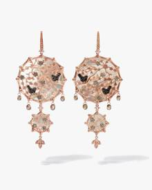 Annoushka Dream Catcher 18ct Rose Gold Pearl Large Earrings
