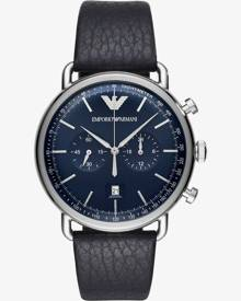 Emporio Armani Mens Chronograph Strap Watch AR11105