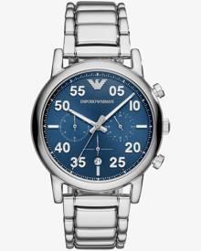 Emporio Armani Mens Luigi Blue Chronograph Watch AR11132