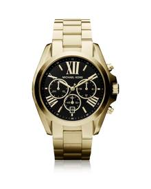 Michael Kors Designer Women's Watches, Bradshaw Goldtone Stainless Steel Women's Chronograph Watch