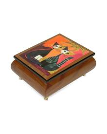 "Forzieri Designer Jewelry Boxes, It's a Small World - ""Together"" Musical Jewelry Box"