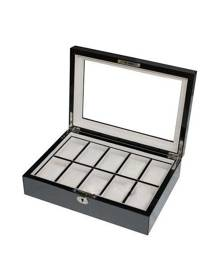 dltradingau Luxury wooden watch case for men carbon fiber