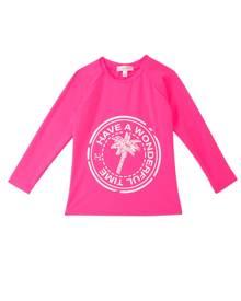 Heidi Klein Girls Clara Girls Rash Vest - 13-14 Pink