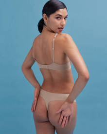 ThirdLove Comfort Stretch Thong - taupe / XS