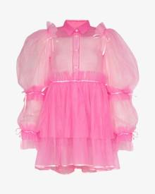 Viktor & Rolf Mary Darling pouf sleeve tulle dress