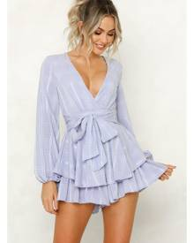 Hello Molly Must Be Lonely Now Romper Navy