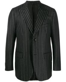 Cobra S.C. metallic pinstripe blazer - Black