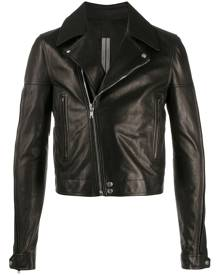 Rick Owens zipped biker jacket - Black