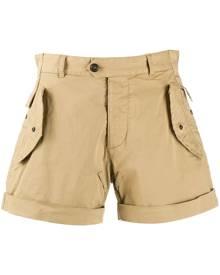 Dsquared2 flap detail cargo shorts - Neutrals