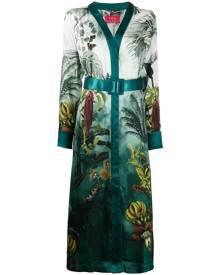 F.R.S For Restless Sleepers botanical print dress - Green