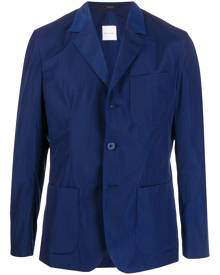 Paul Smith metallic textured blazer - Blue