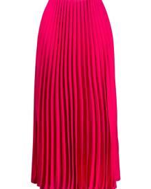 Valentino pleated midi skirt - Pink