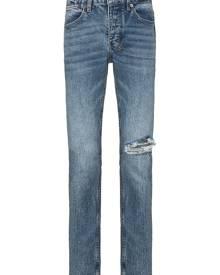 Ksubi ripped detail skinny jeans - Blue