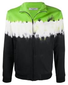 Valentino tie-dye zipped sweatshirt - Green