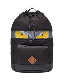 Fendi Bag Bugs motif backpack - Black