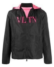 Valentino VLTN print reversible windbreaker - Black
