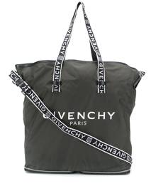 Givenchy logo print shopper tote - Green