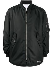 Valentino oversized bomber jacket - Black