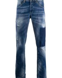 Dondup George low-rise skinny jeans - Blue