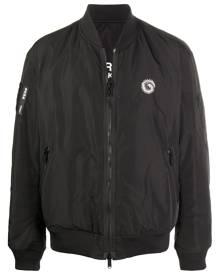 Undercover zip-up bomber jacket - Black