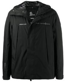 Moncler Grenoble zipped hooded jacket - Black