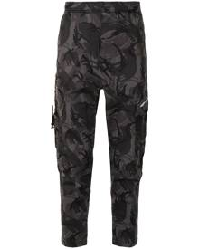 AAPE BY *A BATHING APE® camouflage print cargo trousers - Green