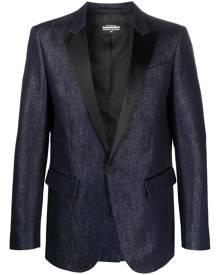 Dsquared2 single-breasted blazer - Blue