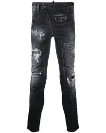 Dsquared2 ripped skinny jeans - Black