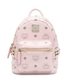 MCM Visetos-print backpack - Pink