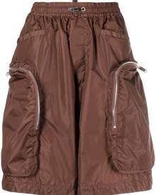 Dsquared2 knee-length cargo shorts - Brown