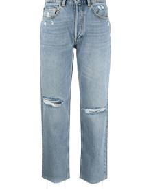 Boyish Jeans Tommy distressed straight leg jeans - Blue