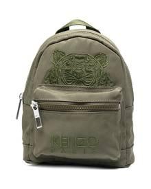 Kenzo Kampus tiger-motif mini backpack - Green