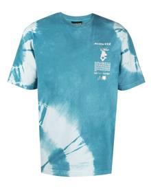 Mauna Kea tie-dye logo T-shirt - Blue