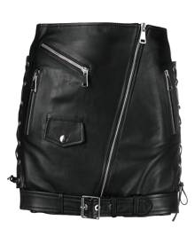 Manokhi Biker mini skirt - Black