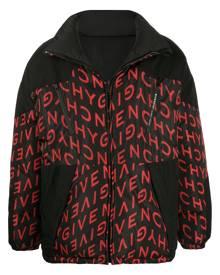 Givenchy reversible logo-print puffer jacket - Brown