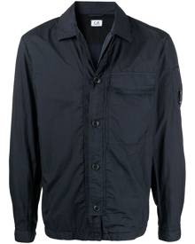 C.P. Company button-down bomber jacket - Blue