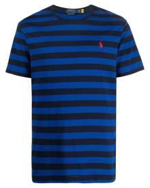 Polo Ralph Lauren stripe print T-shirt - Blue