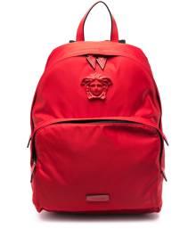 Versace Medusa-motif backpack - Red