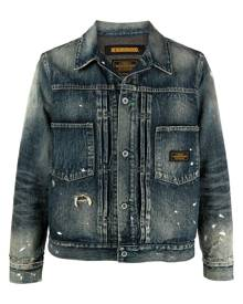 Neighborhood distressed denim jacket - Blue
