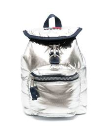 Tommy Hilfiger small metallic backpack - Silver