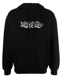 PACCBET graffiti print hoodie - Black