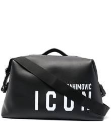 Dsquared2 x Ibrahimović Icon duffle bag - Black