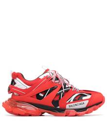 Balenciaga Track clear-sole sneakers - Red