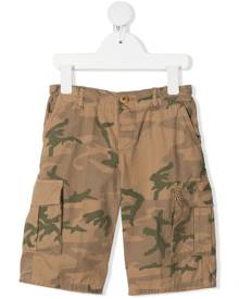 Zhoe & Tobiah camouflage print cargo shorts - Neutrals