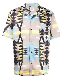 Marcelo Burlon County of Milan Navaho hawaii shirt - Neutrals