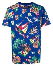 Polo Ralph Lauren graphic-print T-shirt - Blue