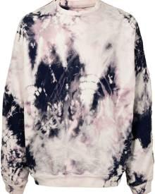 Kapital tie dye-print sweatshirt - White