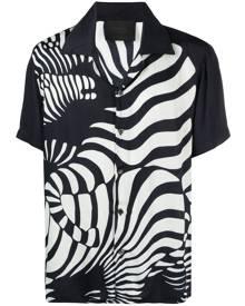 Limitato animal-print shirt - Blue