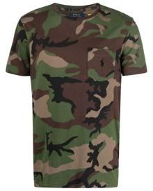 Polo Ralph Lauren camouflage-print cotton T-Shirt - Green