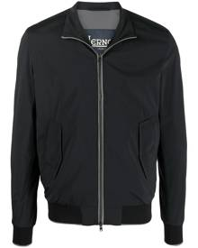 Herno zipped bomber jacket - Blue